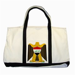 Coat of Arms of Iraq  Two Tone Tote Bag