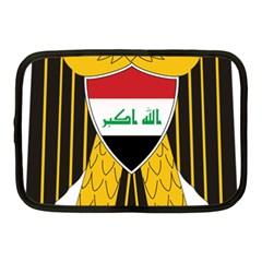Coat of Arms of Iraq  Netbook Case (Medium)