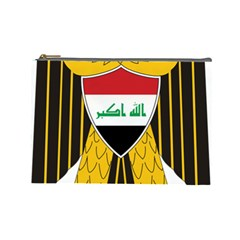 Coat of Arms of Iraq  Cosmetic Bag (Large)