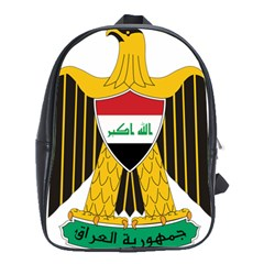 Coat of Arms of Iraq  School Bags(Large)