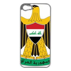 Coat of Arms of Iraq  Apple iPhone 5 Case (Silver)