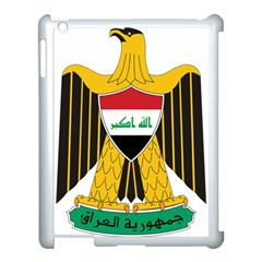 Coat of Arms of Iraq  Apple iPad 3/4 Case (White)
