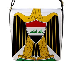 Coat of Arms of Iraq  Flap Messenger Bag (L)