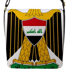 Coat of Arms of Iraq  Flap Messenger Bag (S)