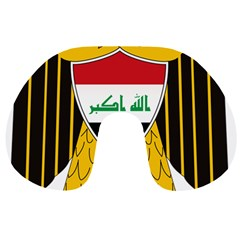 Coat of Arms of Iraq  Travel Neck Pillows