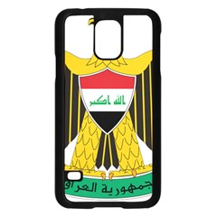 Coat of Arms of Iraq  Samsung Galaxy S5 Case (Black)