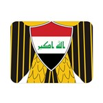 Coat of Arms of Iraq  Double Sided Flano Blanket (Mini)  35 x27 Blanket Back