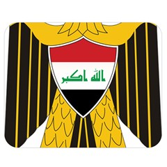Coat of Arms of Iraq  Double Sided Flano Blanket (Medium)