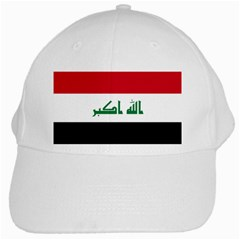 Flag of Iraq White Cap