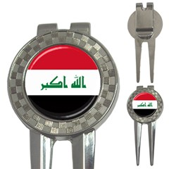 Flag of Iraq 3-in-1 Golf Divots