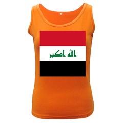 Flag of Iraq Women s Dark Tank Top