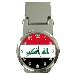 Flag of Iraq Money Clip Watches