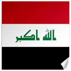 Flag of Iraq Canvas 12  x 12