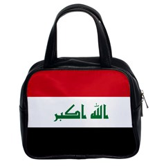 Flag of Iraq Classic Handbags (2 Sides)