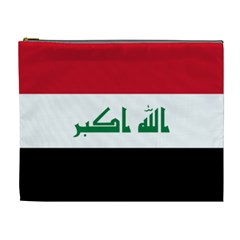 Flag of Iraq Cosmetic Bag (XL)