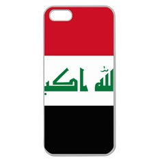 Flag of Iraq Apple Seamless iPhone 5 Case (Clear)