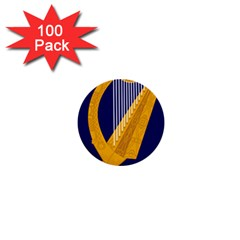 Coat of Arms of Ireland 1  Mini Buttons (100 pack)