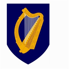 Coat Of Arms Of Ireland Large Garden Flag (two Sides)