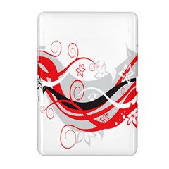 Flower Floral Star Red Wave Samsung Galaxy Tab 2 (10 1 ) P5100 Hardshell Case