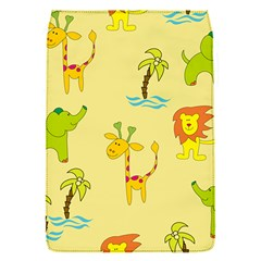 Cute Animals Elephant Giraffe Lion Flap Covers (S)