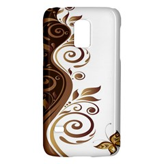 Leaf Brown Butterfly Galaxy S5 Mini