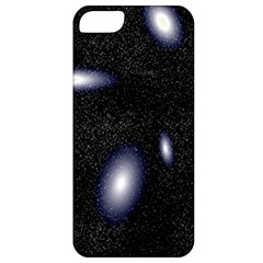 Galaxy Planet Space Star Light Polka Night Apple iPhone 5 Classic Hardshell Case