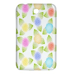 Fruit Grapes Purple Yellow Blue Pink Rainbow Leaf Green Samsung Galaxy Tab 3 (7 ) P3200 Hardshell Case