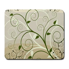 Leaf Sexy Green Gray Large Mousepads