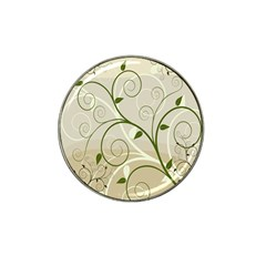Leaf Sexy Green Gray Hat Clip Ball Marker