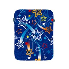 Line Star Space Blue Sky Light Rainbow Red Orange White Yellow Apple iPad 2/3/4 Protective Soft Cases