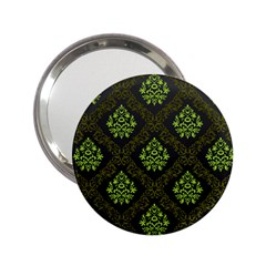 Leaf Green 2 25  Handbag Mirrors