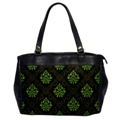 Leaf Green Office Handbags