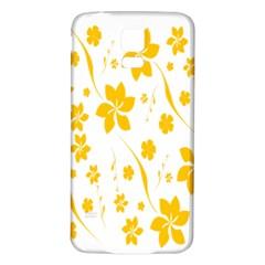 Shamrock Yellow Star Flower Floral Star Samsung Galaxy S5 Back Case (white)