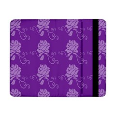 Purple Flower Rose Sunflower Samsung Galaxy Tab Pro 8 4  Flip Case