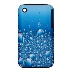 Water Bubble Blue Foam iPhone 3S/3GS