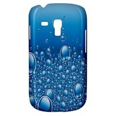 Water Bubble Blue Foam Galaxy S3 Mini