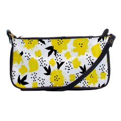 Yellow Flowers Evening Bag