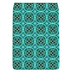 Turquoise Damask Pattern Flap Covers (S)