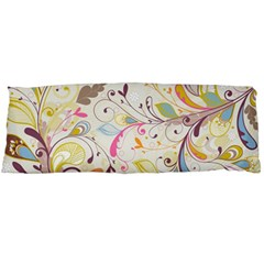 Colorful Seamless Floral Background Body Pillow Case (Dakimakura)
