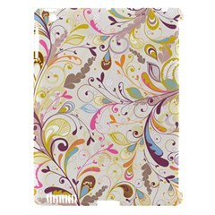 Colorful Seamless Floral Background Apple iPad 3/4 Hardshell Case (Compatible with Smart Cover)