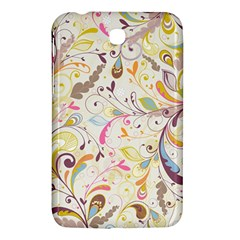 Colorful Seamless Floral Background Samsung Galaxy Tab 3 (7 ) P3200 Hardshell Case