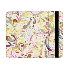 Colorful Seamless Floral Background Samsung Galaxy Tab Pro 8 4  Flip Case