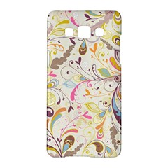 Colorful Seamless Floral Background Samsung Galaxy A5 Hardshell Case