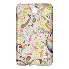 Colorful Seamless Floral Background Samsung Galaxy Tab 4 (8 ) Hardshell Case
