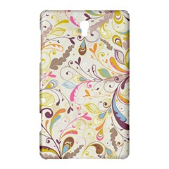 Colorful Seamless Floral Background Samsung Galaxy Tab S (8 4 ) Hardshell Case