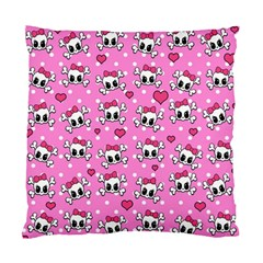 Cute skulls  Standard Cushion Case (Two Sides)