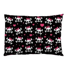 Cute skulls  Pillow Case