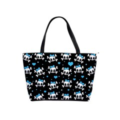Cute skulls  Shoulder Handbags