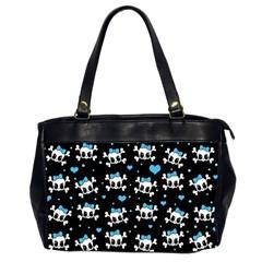 Cute skulls  Office Handbags (2 Sides)