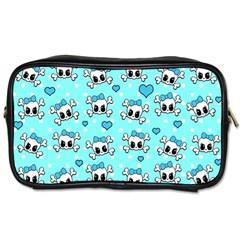 Cute skull Toiletries Bags